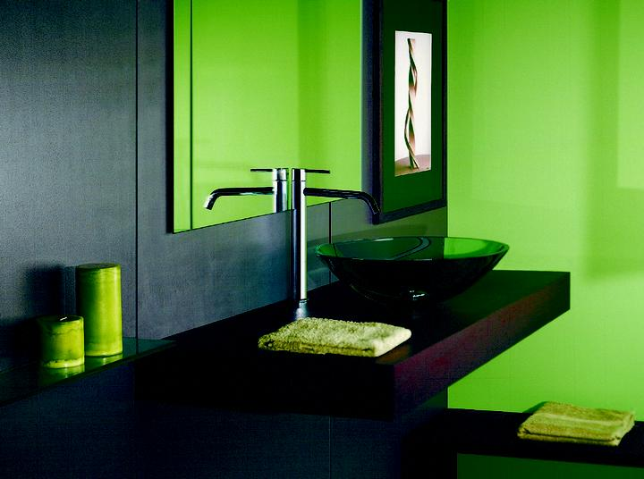 Zelená, kam sa pozrieš - stále decentne a vkusne - Obrázok č. 68