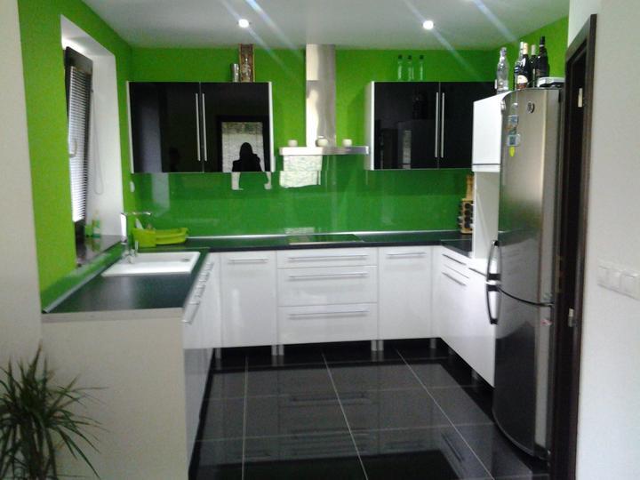 Zelená, kam sa pozrieš - stále decentne a vkusne - Obrázok č. 114