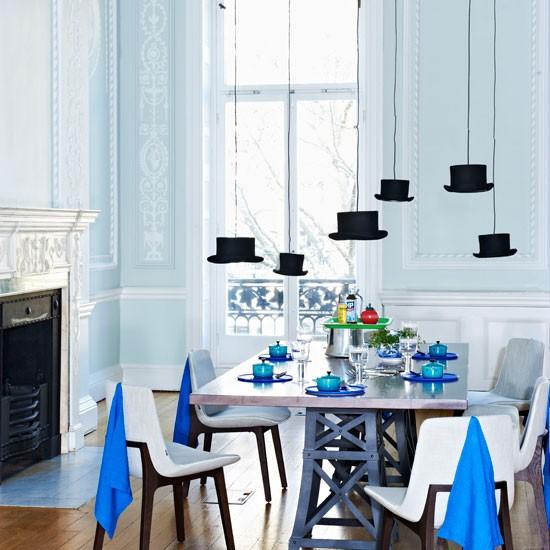 Modrá, kam sa pozrieš - stále decentne a vkusne - Obrázok č. 9