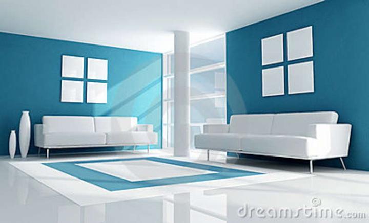 Modrá, kam sa pozrieš - stále decentne a vkusne - Obrázok č. 16
