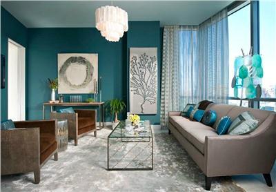 Modrá, kam sa pozrieš - stále decentne a vkusne - Obrázok č. 19