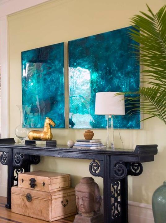 Modrá, kam sa pozrieš - stále decentne a vkusne - Obrázok č. 21