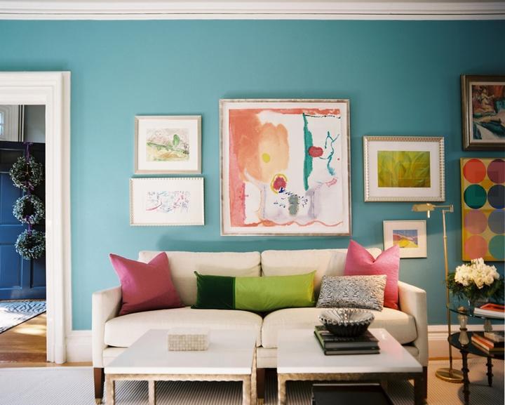 Modrá, kam sa pozrieš - stále decentne a vkusne - Obrázok č. 22