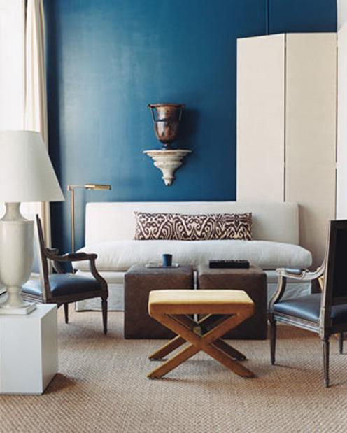 Modrá, kam sa pozrieš - stále decentne a vkusne - Obrázok č. 32