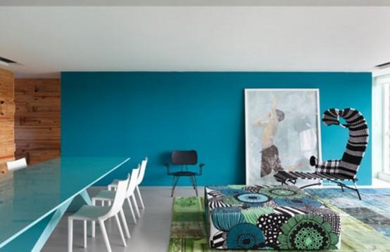 Modrá, kam sa pozrieš - stále decentne a vkusne - Obrázok č. 34