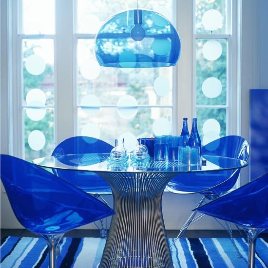Modrá, kam sa pozrieš - stále decentne a vkusne - Obrázok č. 37