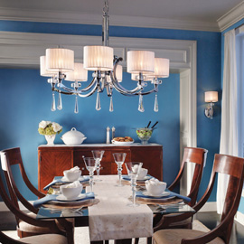 Modrá, kam sa pozrieš - stále decentne a vkusne - Obrázok č. 14