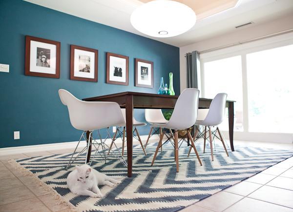 Modrá, kam sa pozrieš - stále decentne a vkusne - Obrázok č. 40