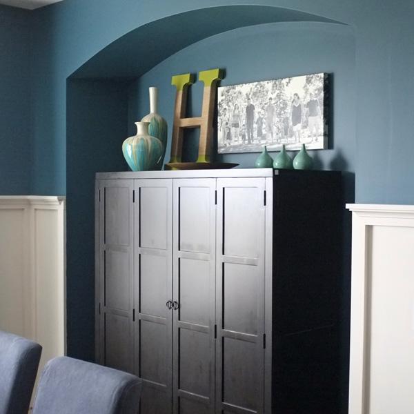 Modrá, kam sa pozrieš - stále decentne a vkusne - Obrázok č. 41