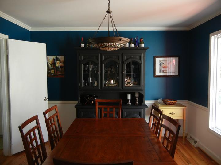 Modrá, kam sa pozrieš - stále decentne a vkusne - Obrázok č. 44
