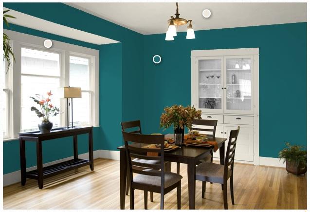 Modrá, kam sa pozrieš - stále decentne a vkusne - Obrázok č. 47