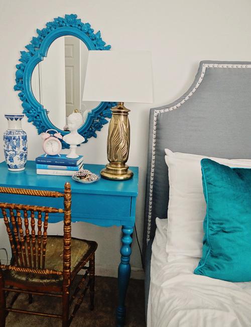 Modrá, kam sa pozrieš - stále decentne a vkusne - Obrázok č. 54