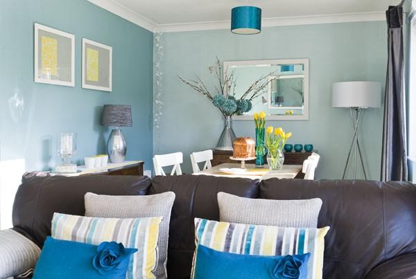 Modrá, kam sa pozrieš - stále decentne a vkusne - Obrázok č. 61