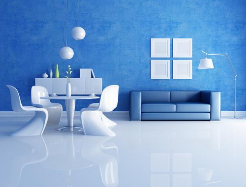 Modrá, kam sa pozrieš - stále decentne a vkusne - Obrázok č. 88