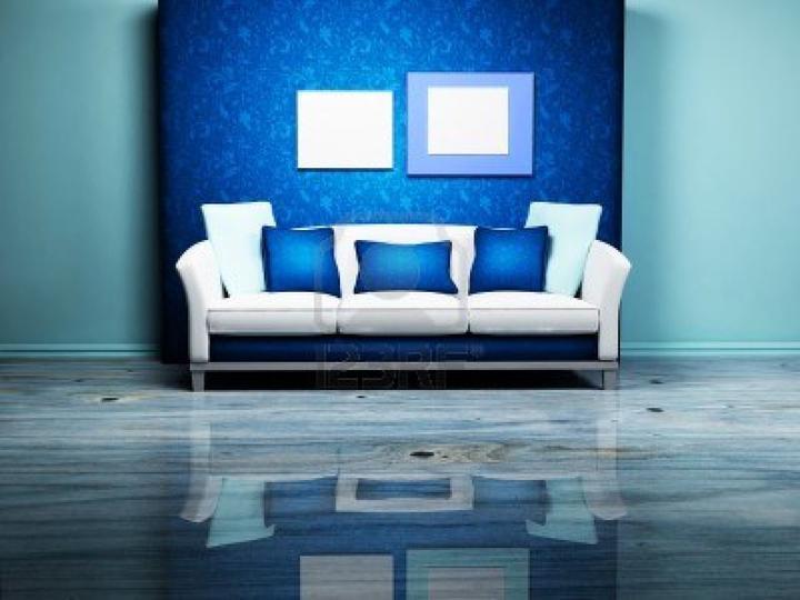 Modrá, kam sa pozrieš - stále decentne a vkusne - Obrázok č. 95