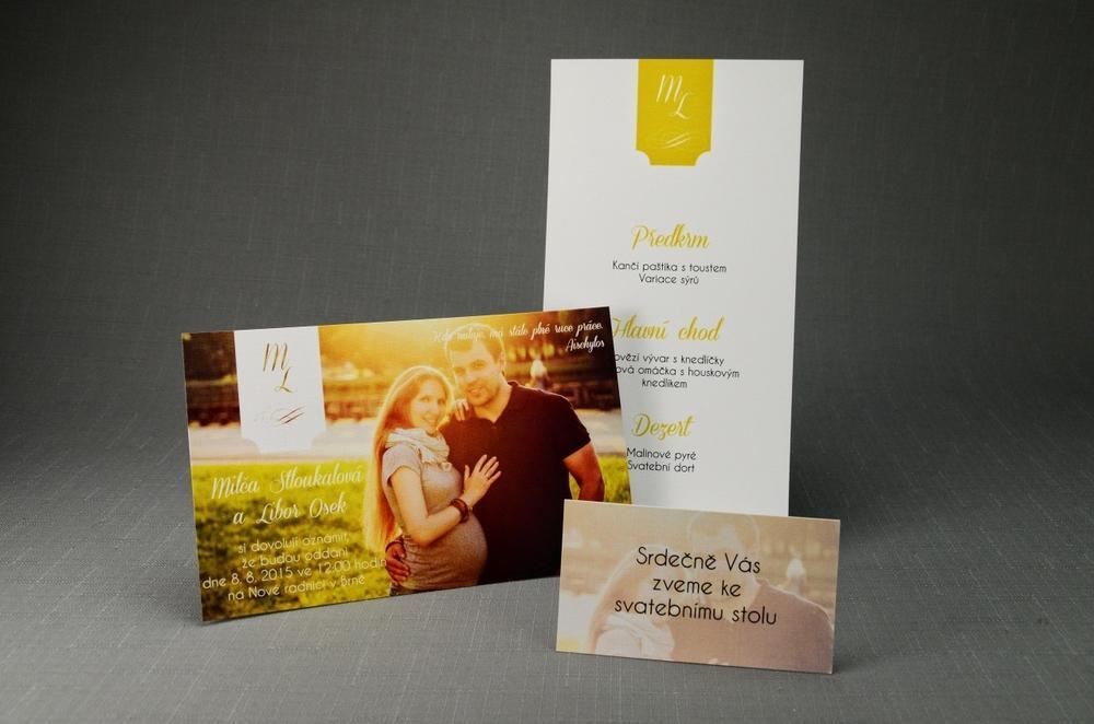 Svatební oznámení FotoSVO49 - Obrázek č. 1