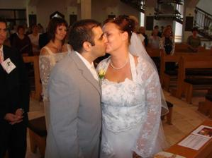 Prvý manželský bozk - tada skor pusa