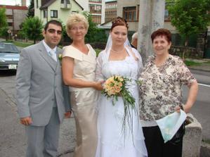 Jirko, moja mamina, ja a moja babička