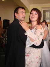 Sestra s manželom...