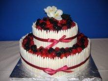 2x tento ovocný dortík