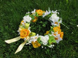 Jarní věneček pro vílu Amálku