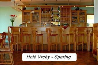 Místo pro oslavu - Sparing Holé Vrchy.