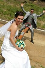 Tato je najkrasia fotka v nasom svadobnom albume!