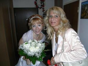 ja a moja mamca 30 minut pred obradom