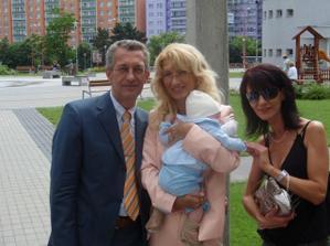moj syncek,mama,otec,a mamina sestra