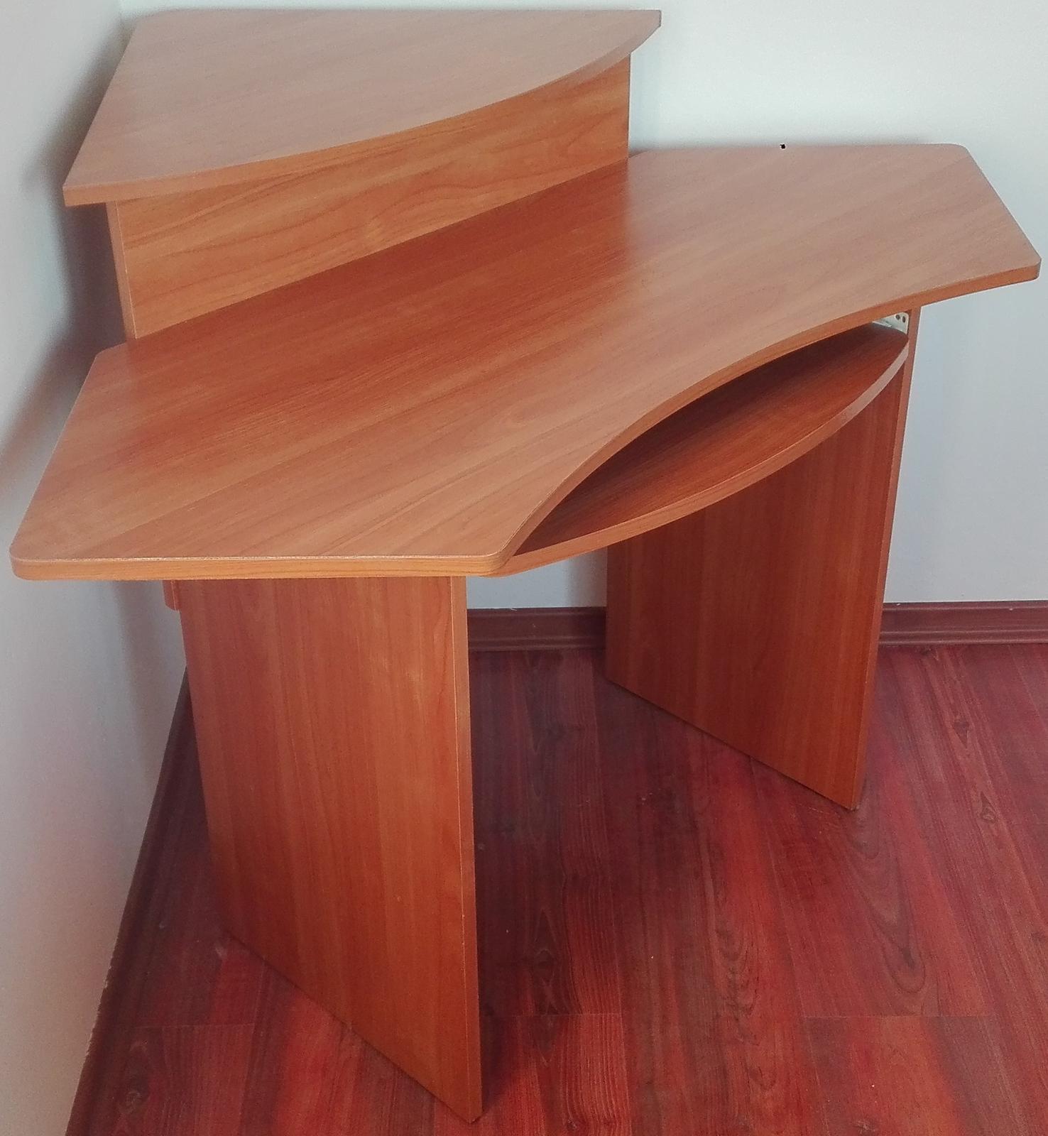 Rohový PC stôl - Obrázok č. 3
