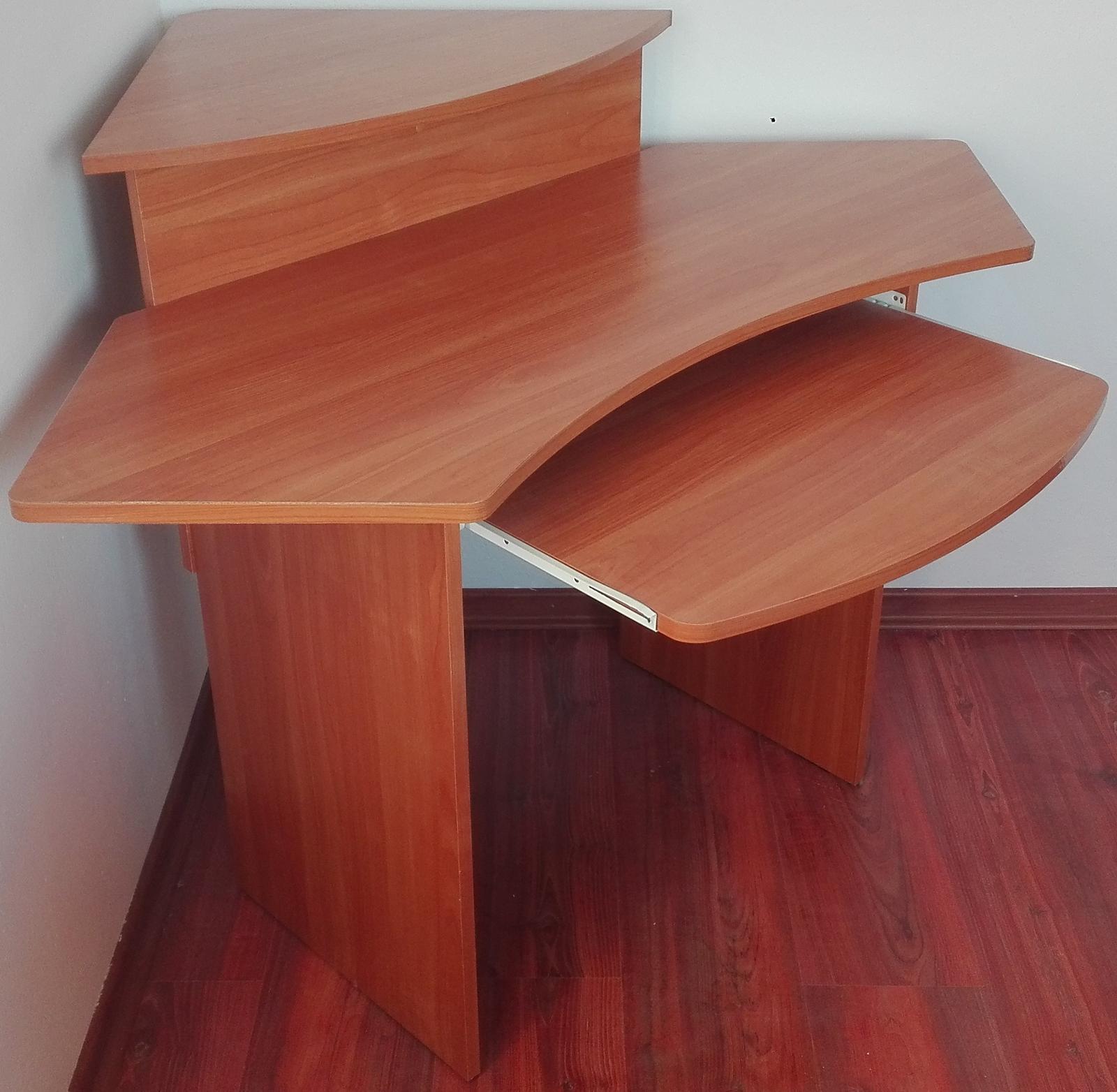 Rohový PC stôl - Obrázok č. 4