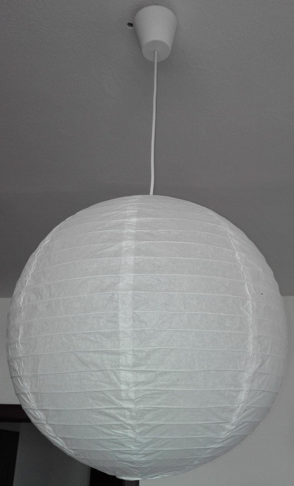 2x papierové tienidlo - Obrázok č. 1