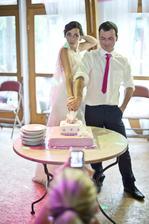 Profíci krájí dort