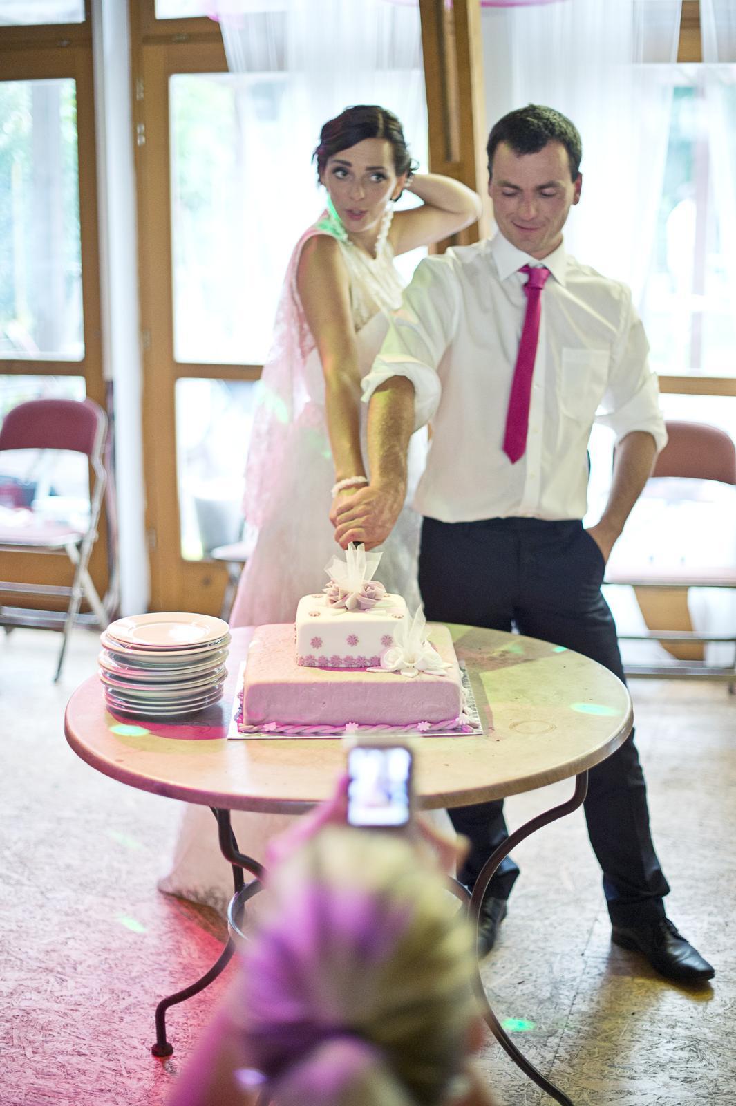 Lucka{{_AND_}}Jan - Profíci krájí dort