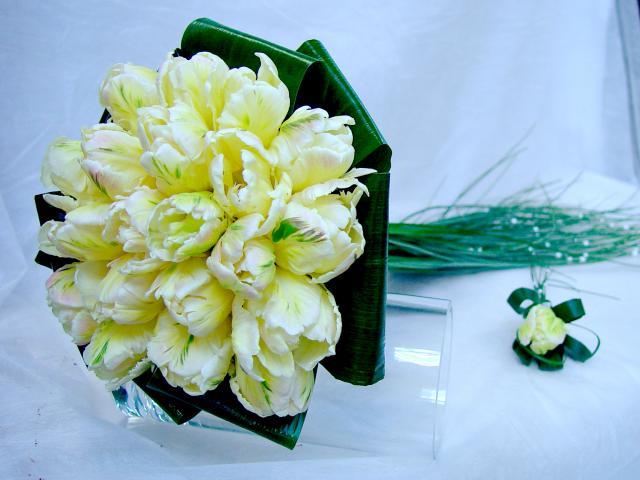 Svadobna kytica z tulipánov - Obrázok č. 14