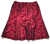 Dámská bodro společenská sukně vel. 48 , 48
