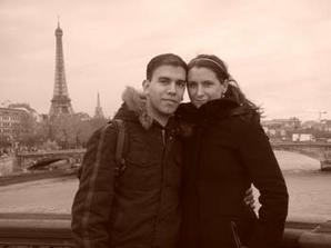 Naše dovolená k výročí 6 mesíců - Paříž