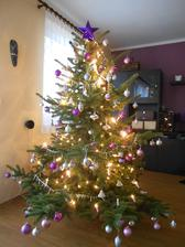 23.12.2014 - letos ladíme konečně i Vánoce do fialova