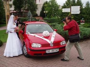 naše svadobné autíčko