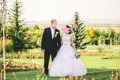 svadobné šaty na šnurovanie, 34