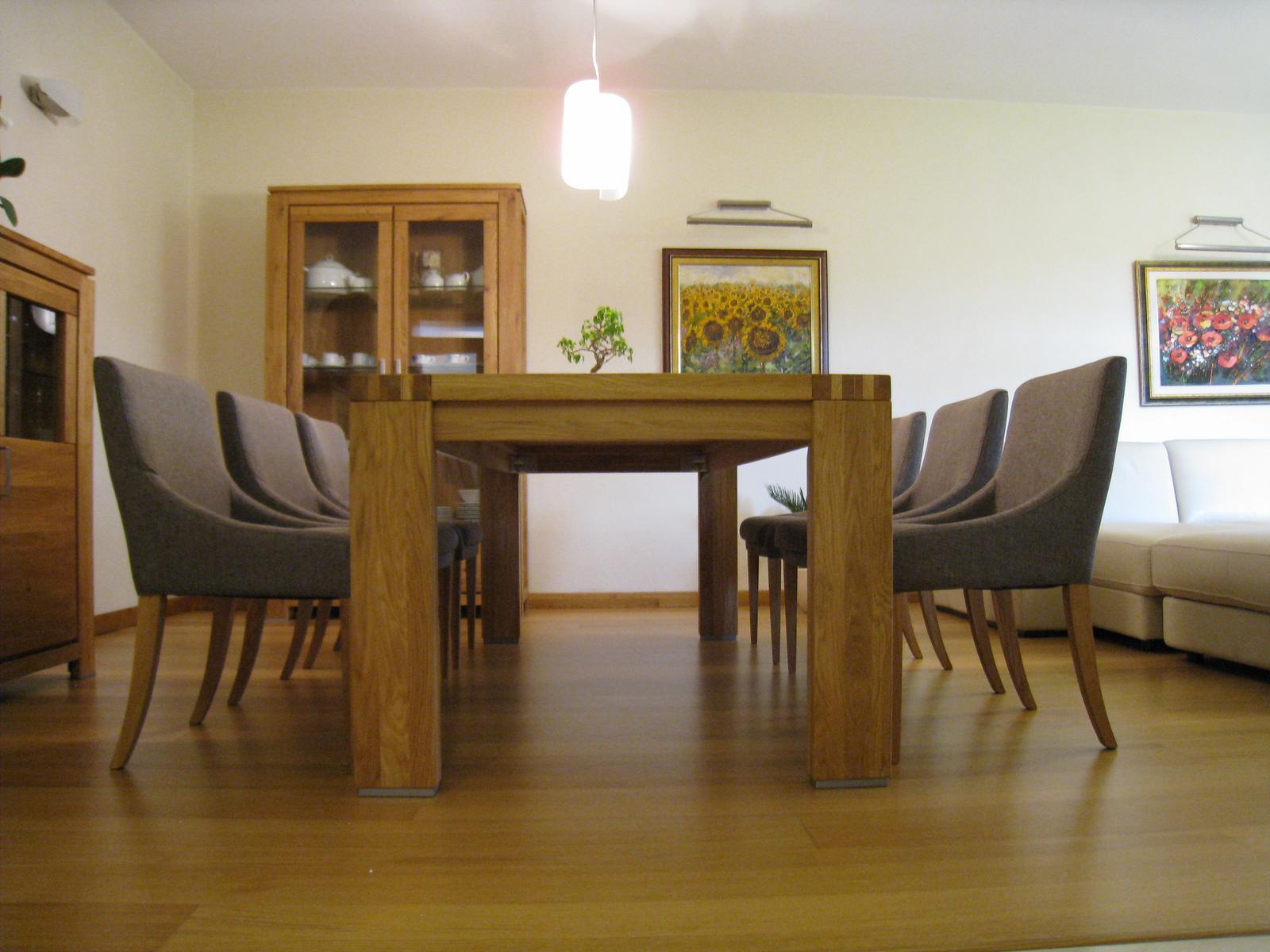 Stôl a stoličky do jedálne - Pohodlné stoličky