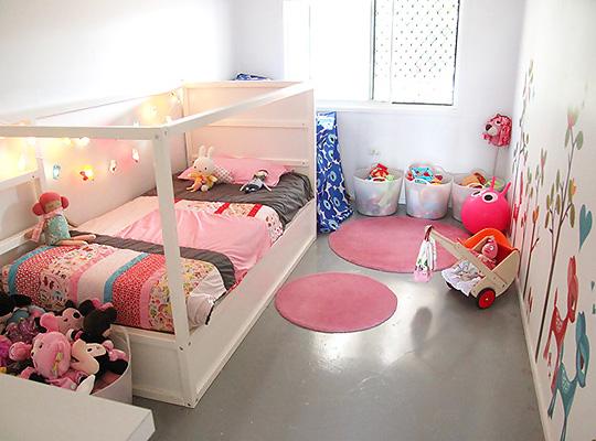 Dětský pokojík - IKEA Kura