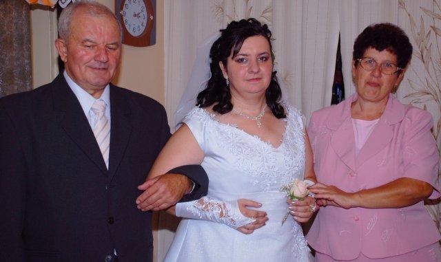 Elenka{{_AND_}}Radko Kostrejovi - ja z rodicmi