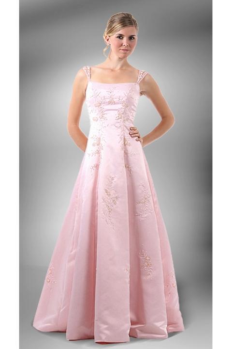 0583721655b Glamor.cz - Společenské a svatební šaty z USA - Svatební růžové šaty ...