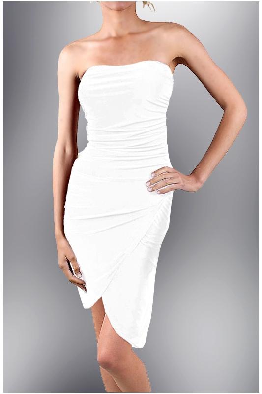 glamor A co tyto šaty  Jsou vhodné i jako popůlnoční. Bez ramínek 02c3551fde