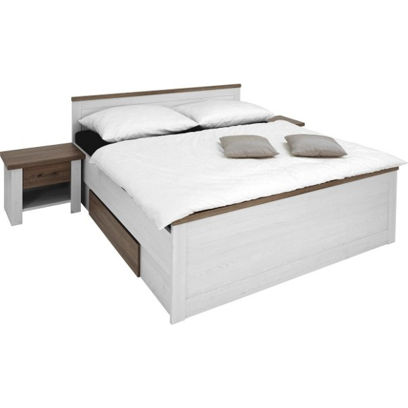 Zařízení a nábytek - Nová postel se zásuvkami do ložnice