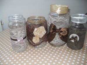 dekorace - vázy