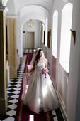 Luxusné svadobné šaty Rosa Clará Rhea, 38
