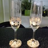 skleničky na přípitek,