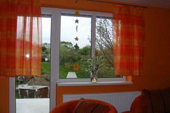 Výhľad z okna v obývačke
